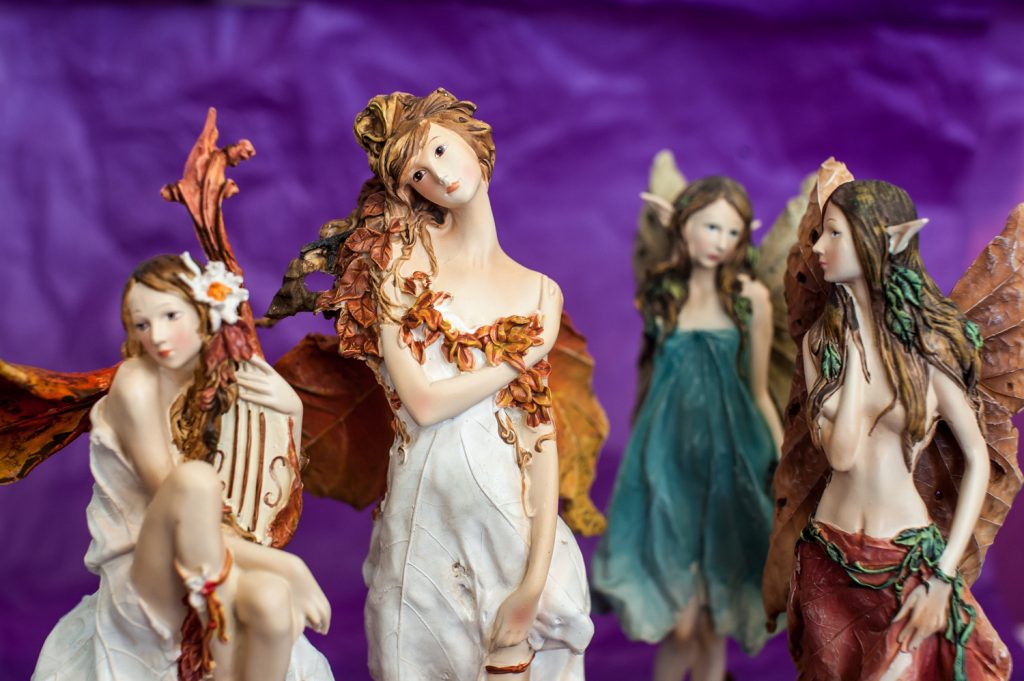 Fairies and fantasy figurines