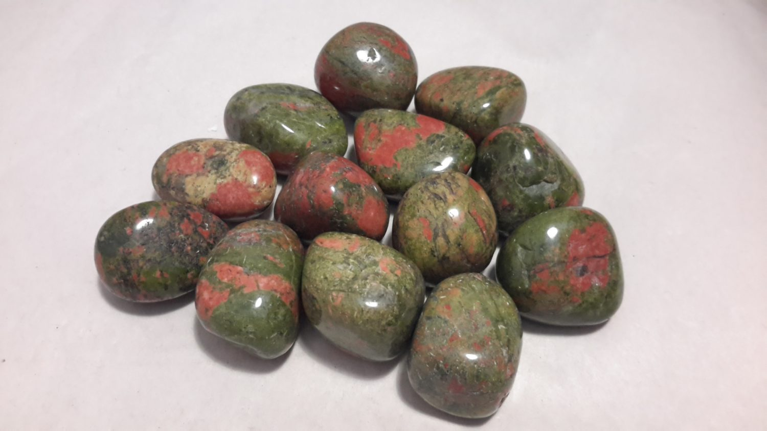 beautiful auctions ct untreated gemstone naturaluntreated unakite natural